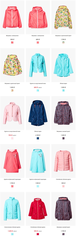 Купить Верхнюю одежду для девочек в интернет-магазине одежды fundayshop com